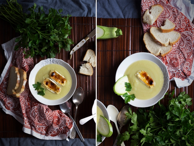 receta de calabacín con queso